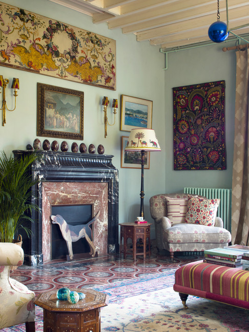 Susan Deliss's country house in Burgundy, France