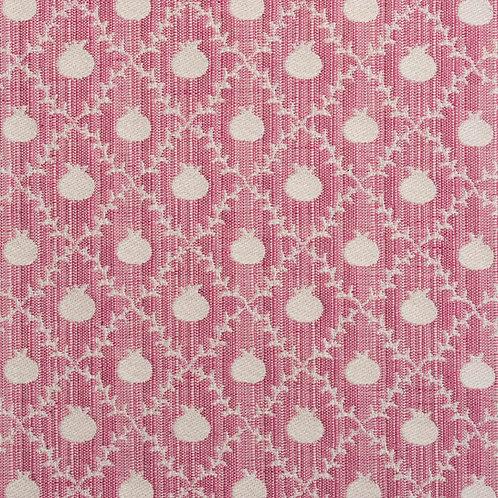 """Grenadine"" reversible weave in Rose Pink (price is per metre)"