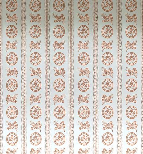 Maribor Wallpaper in Antique Copper