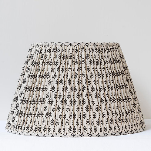 "16""/41cm base block printed cotton lampshade"