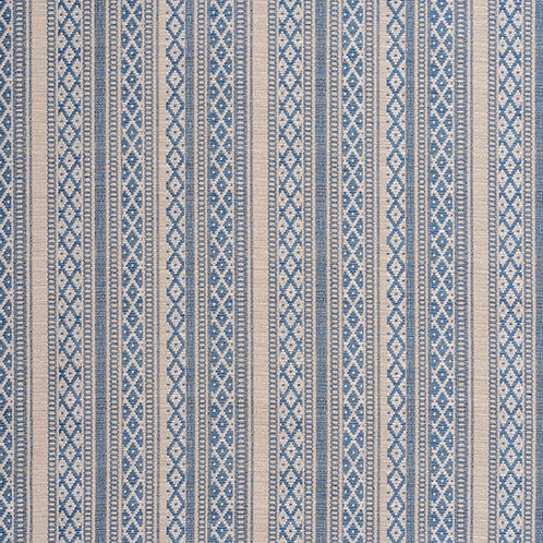 Zoe indigo/antique white weave (price is per metre)