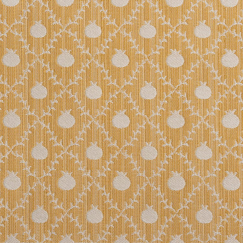 """""""Grenadine"""" reversible weave in Persian Yellow (price is per metre)"""