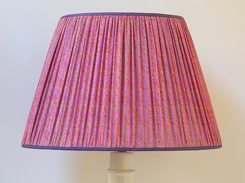 "18""/46cm base archive floral print silk lampshade"