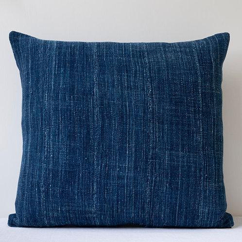 """18""""/ 45cm smart square indigo dyed antique textile c"""