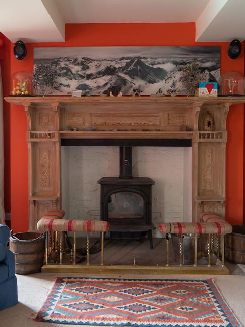 Georgian country house play room