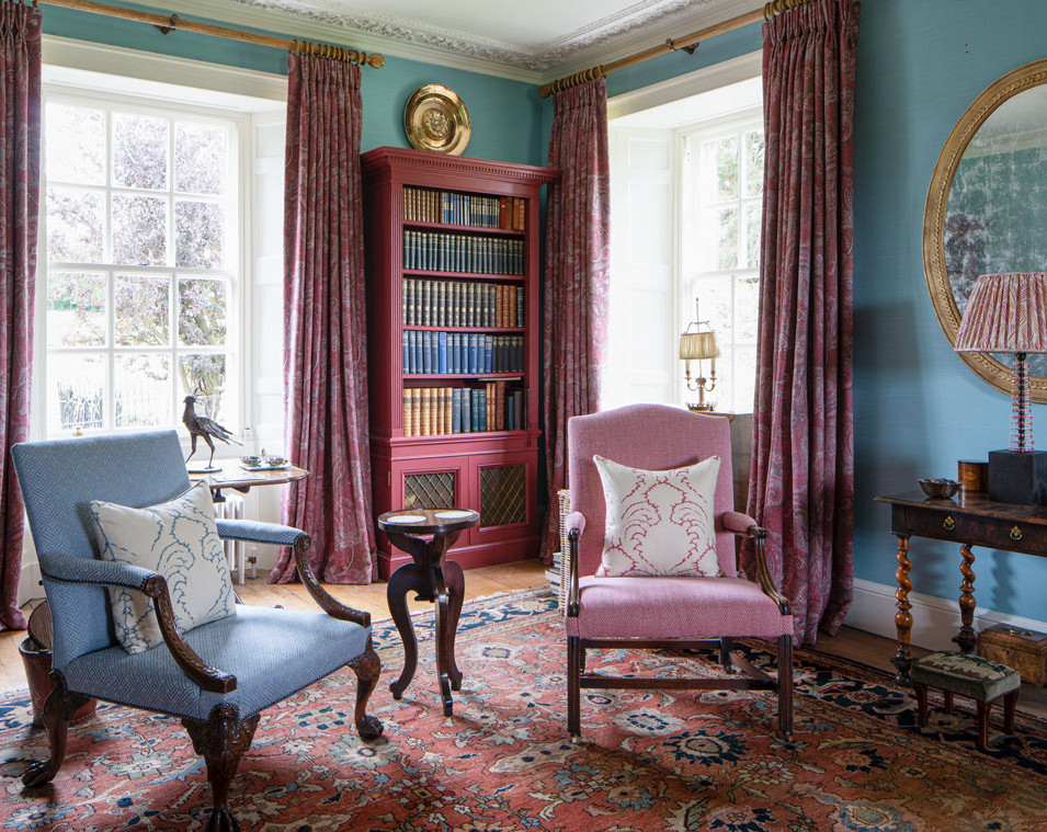Georgian country house drawing room