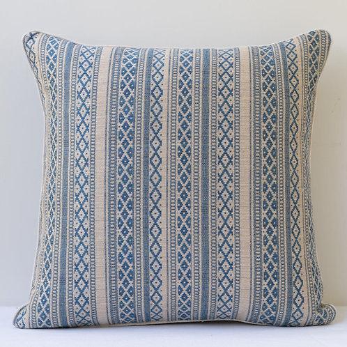 "50cm/ 20"" Susan Zoe fabric cushion"
