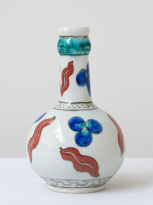 (12) Decorative Iznik inspired ceramic vase