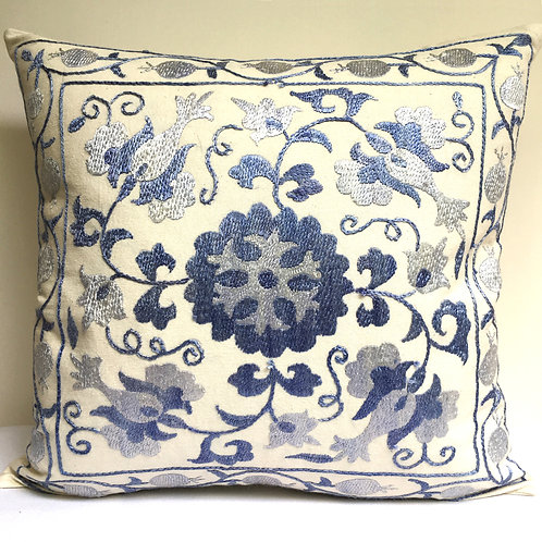 2A Hand embroidered cushion
