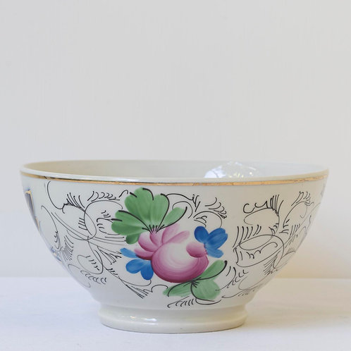 20th century Russian porcelain bowl