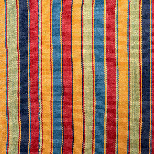 Huge rectangular 70-80 year old vegetable dyed hand woven striped Persian kilim