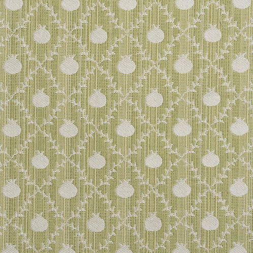 """Grenadine"" reversible weave in Apple Green (price is per metre)"