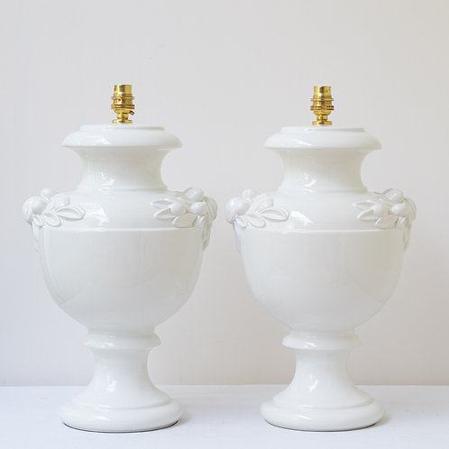 Pair beautiful Casa Pupo lamps (price is for the pair)
