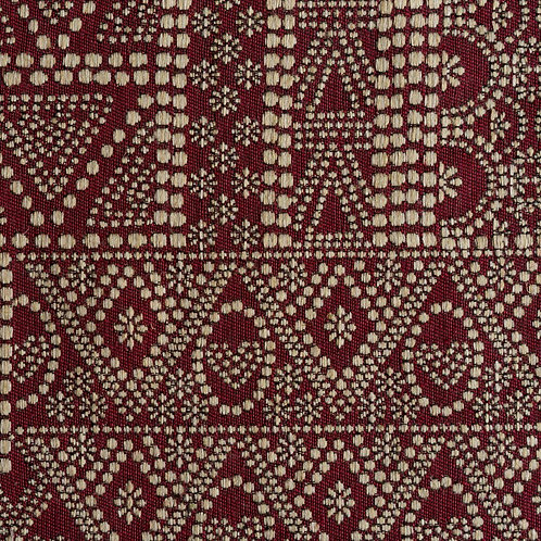 """BATIK"" fabric in ""Garnet"" (price per metre)"