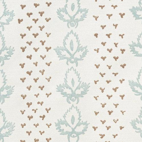 19 metre roll of screen printed Sibyl Colefax & John Fowler 'Bees' silk fabric