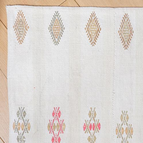 Hand woven and embroidered Anatolian cotton panel 3 POA