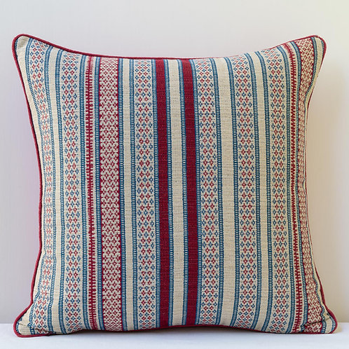 "20""/50cm cushion in Susan's ""Yashim Too"" fabric"