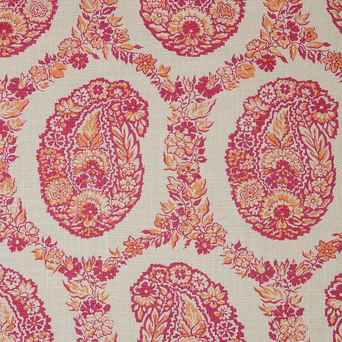 Padishah in Pink and Orange (price is per metre)