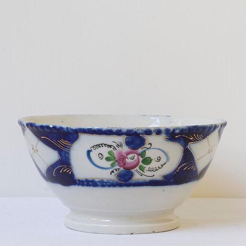 Antique Russian Kuznetsova porcelain bowl