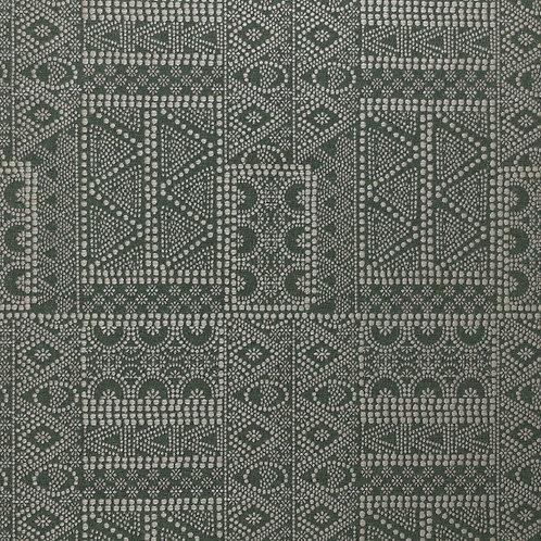 Batik in Moss (price is per metre)