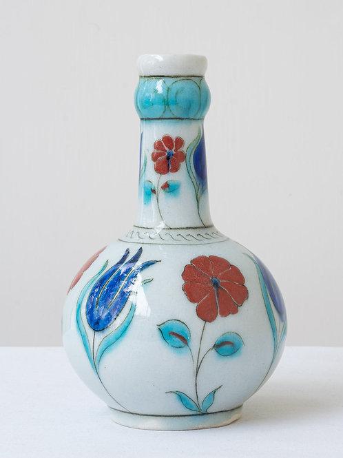 (11) Decorative Iznik inspired ceramic vase