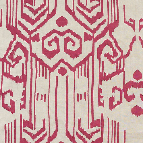 Palmyra linen in raspberry