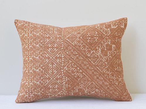 Small rectangular Guy Goodfellow Fez Weave/ antique hemp cushion
