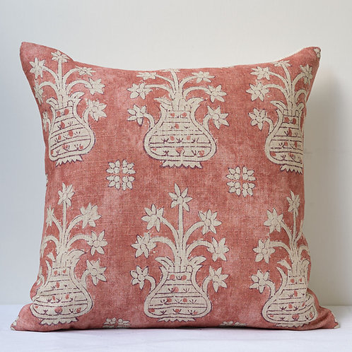 "Susan Deliss double sided ""Artemis"" fabric cushion"
