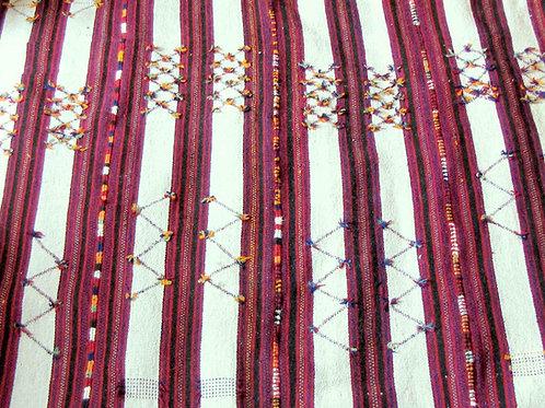 Hand woven large, heavy Bedouin kilim