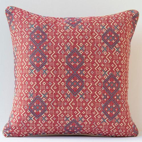 "50cm/ 20"" double sided Criss Cross fabric cushion"