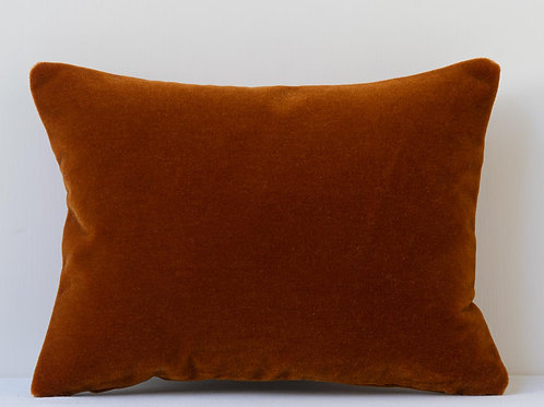 Rectangular archive Pierre Frey mohair cushion