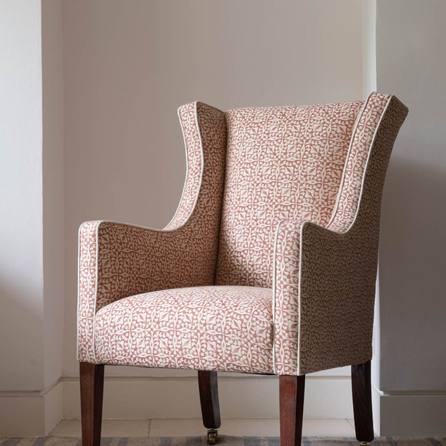 Bespoke chair made by Susan's workshop