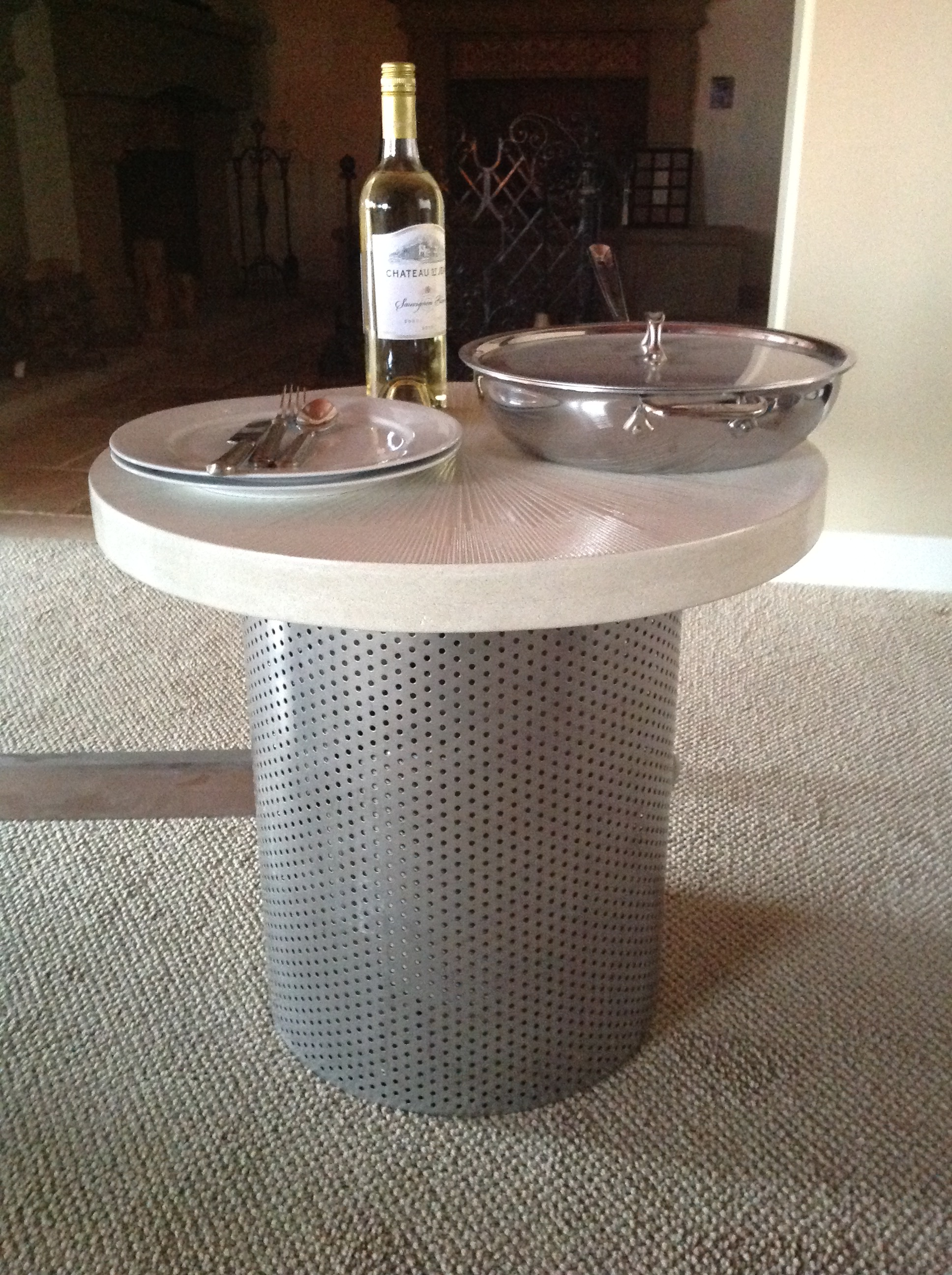 Side Table/Tank Cover