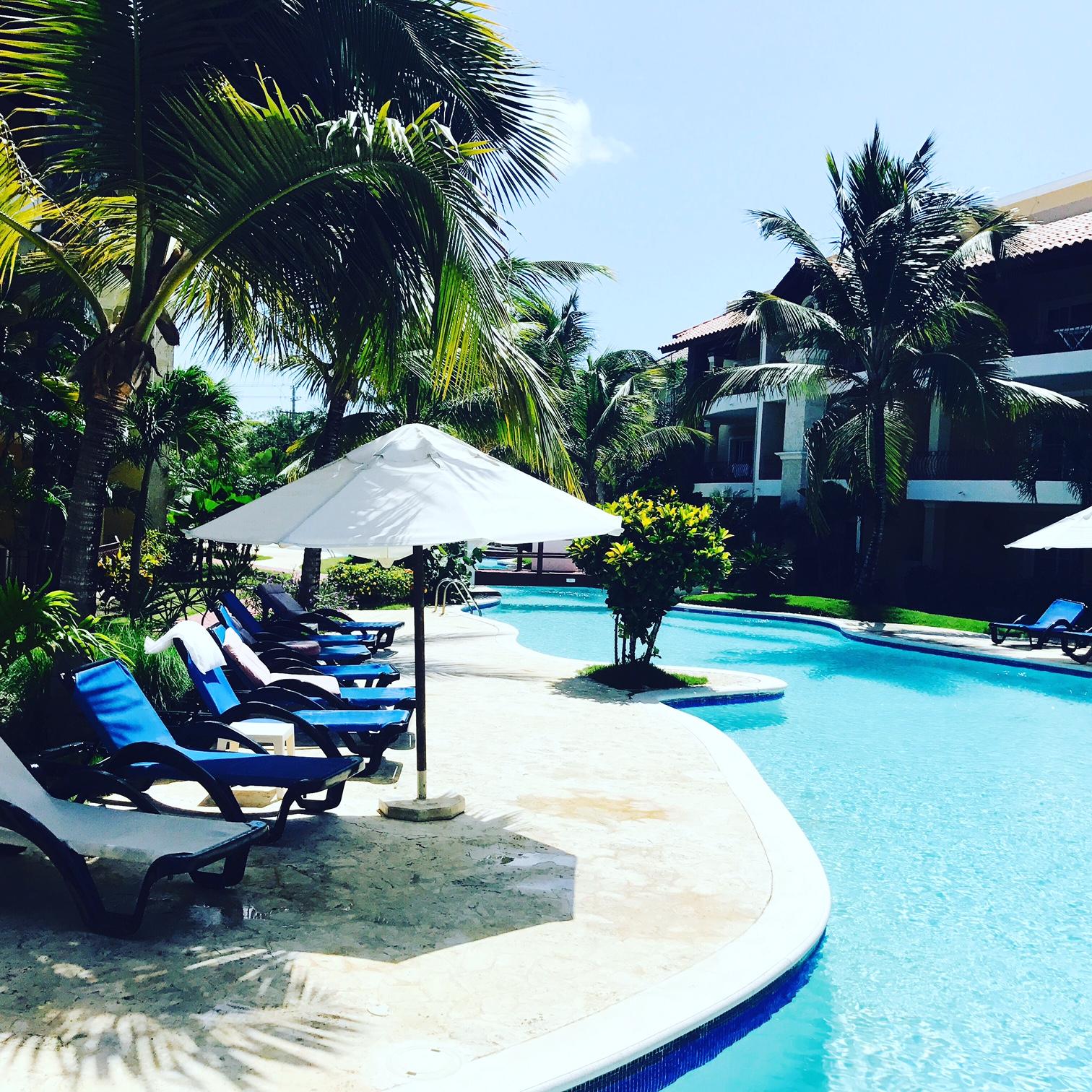 Relax en el Residencial Nautilus de Punta Cana.