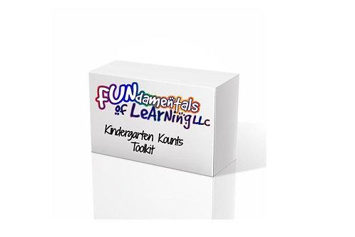 Kindergarten Kounts Learning Kit