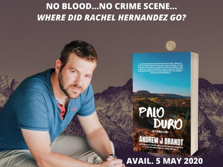 A Sneak Peek at PALO DURO: A THRILLER
