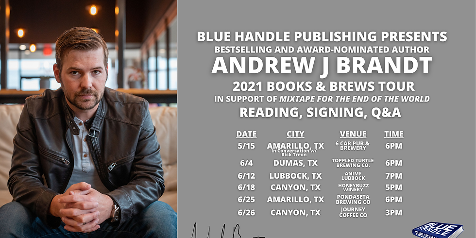 2021 Books and Brews Tour - The Brewery LBK