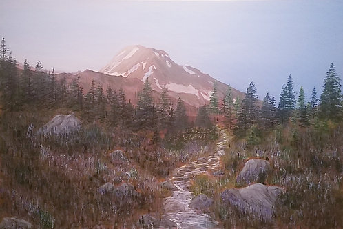 On the Timberline Trail