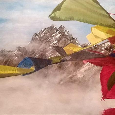 #14 Tibetan Prayer Flags
