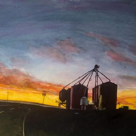 #137 Nightfall on the Farm
