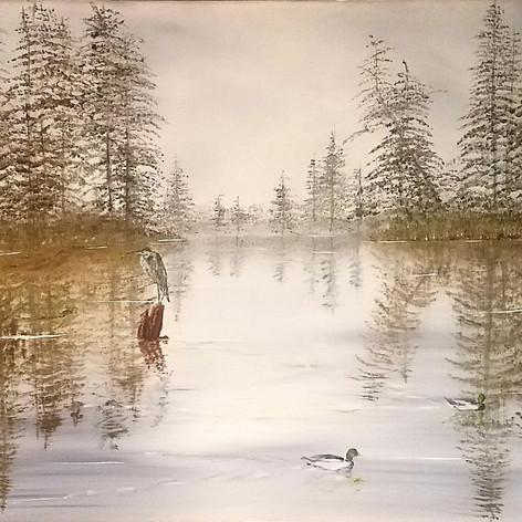 #12 Jogging at Lacamas Lake