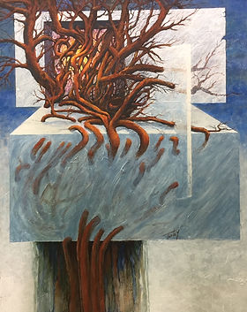 John Turley, 'Reclamation #5', Acrylic,