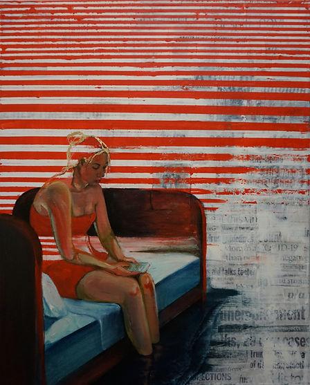 Kelsey Birsa, 'Adrift', Mixed Media, 24x