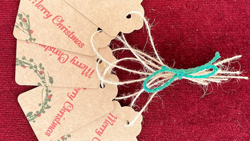 Hand-made Christmas Tags Pack