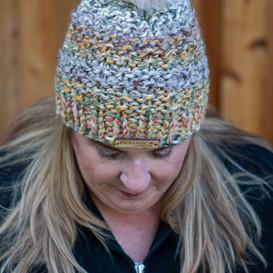 Columbia Faux Fur Pom Hat in Coney Islan