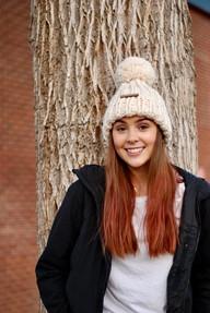 Chloe Pom Hat