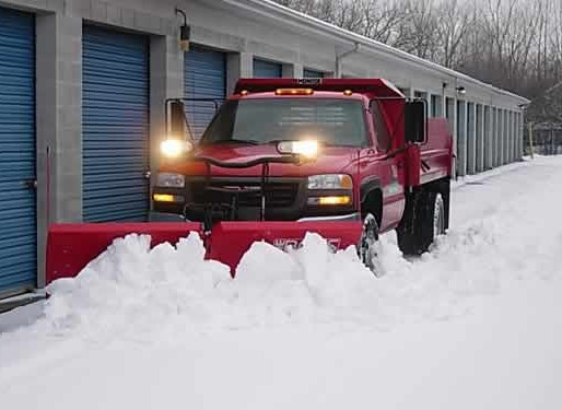 Who is responsible for snow and ice removal and the related claims that might arise?