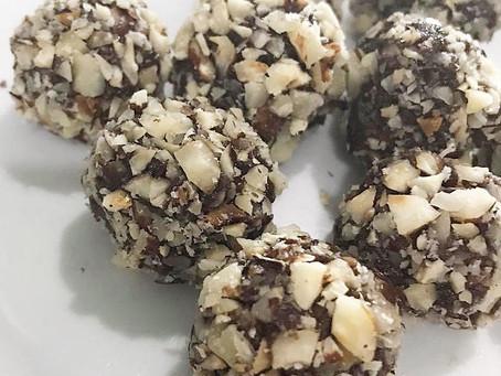 Chocolates veganos tipo Ferrero