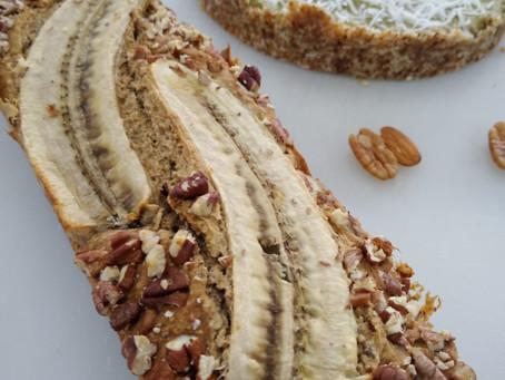Panqué de plátano Gluten Free