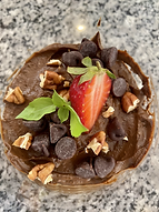 Mousse de chocolate keto.heic